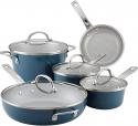Deals List: Ayesha Curry Home Collection 12-piece Porcelain Enamel Cookware Free $10 Kohls Cash