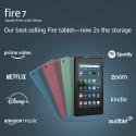 "Deals List: Amazon Fire 7 tablet, 7"" display, 16 GB, latest model (2019 release), Black"