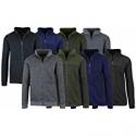 Deals List: 3-Pack AB Mens Marled Fleece Zip Sweater