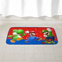 "Deals List: Super Mario Kids Foam Bath Rug, Skid-Resistant, Polyester, 30"" x 20"""