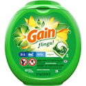 Deals List: Gain flings Liquid Laundry Detergent Pacs, Original, 81 Count