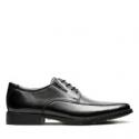 Deals List: Clarks Tilden Walk Black Leather Shoes