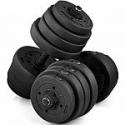 Deals List: 66 lbs Adjustable Dumbbell Set