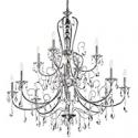 Deals List: Kichler 43948CLP Waverly Chandelier, 9 Light Incandescent 900 Total Watts, Classic Pewter
