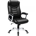 Deals List: SONGMICS Office Chair with High Back, Black