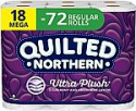 Deals List: Quilted Northern Bathroom Tissue, 18 Count (Pack of 1), White 5112