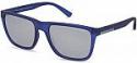Deals List: Armani Exchange Transparent Matte Navy Square Sport Sunglasses