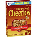 Deals List: Honey Nut Cheerios, Cereal with Oats, Gluten Free, 27.2 oz