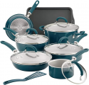 Deals List: Rachael Ray Create Delicious 13pc Aluminum Nonstick Cookware Set