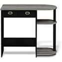 Deals List: FURINNO Go Green Home Laptop Notebook Computer Desk/Table, With 2 Bin Drawers