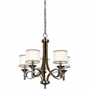 Deals List: Kichler 42381AP Lacey Candle Chandelier Lighting with Shades