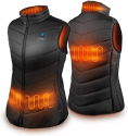 Deals List: Heated Jacket, IUREK Heated Jacket For Men and Women,7.4V 10000mAh Battery Pack and Detachable Hood Included
