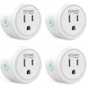 Deals List: 4-Pack Gosund Mini Wifi Outlet Works with Alexa
