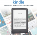 Deals List: Kindle - Now with a Built-in Front Light - Black - Ad-Supported