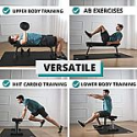 Deals List: Finer Form Gym Quality Foldable Flat Bench for Multi-Purpose Weight Training and Ab Exercises
