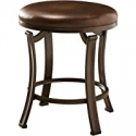 Deals List: Hillsdale Furniture Hastings Backless Vanity Stool, Antique Brown