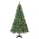 Deals List: Holiday Time Pre-Lit Madison Pine Christmas Tree 6.5-Ft