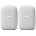 Deals List: Google Nest Nest Audio Smart Speaker, Chalk, 2-Pack