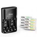 Deals List: 8 EBL 800mAh Rechargeable AAA Batteries + Smart Rapid Charger