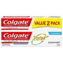 Deals List: Colgate Total Toothpaste, Clean Mint, 9.6 Ounce (2-Pack)