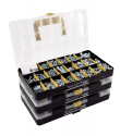 Deals List: JACKSON PALMER 1,300 Piece Hardware Assortment Kit with Screws, Nuts, Bolts & Washers (3 Trays)