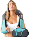 Deals List: Shiatsu Back Shoulder and Neck Massager with Heat - Deep Tissue 3D Kneading Pillow Massager for Neck, Back, Shoulders, Foot, Legs - Electric Full Body Massage, Relieve Muscle pain - Office, Home & Car