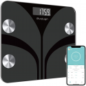 Deals List: Body Fat Scale, Smart Wireless Digital Bathroom BMI Weight Scale, Body Composition Analyzer Health Monitor with Tempered Glass Platform Large Digital Backlit LCD with Smartphone App