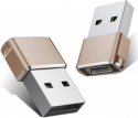 Deals List: USB C Female to USB Male Adapter (2 Pack),Type C to USB A Charger Cable Adapter for iPhone 11 12 Pro Max,Airpods iPad,Samsung Galaxy Note 10 S20 Plus 20 S20+ 20+ Ultra,Google Pixel 5 4 4a 3 3A 2 XL