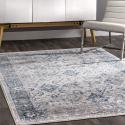 Deals List: nuLOOM Anaelle Vintage Area Rug, 4' x 6', Blue