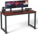 Deals List: SHW Home Office 48-Inch Computer Desk, Silver/Espresso