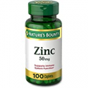 Deals List: 100CT Natures Bounty Zinc 50 mg Caplets