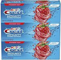 Deals List: Crest Kid's Cavity Protection Fluoride Toothpaste, Strawberry Rush, 3 Count