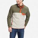 Deals List: Eddie Bauer Men's Chutes Snap Mock Fleece