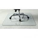 """Deals List: Lorell Tempered Glass Chair Mat, 36"""""""