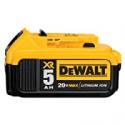 Deals List: DEWALT 20V MAX XR Battery, Lithium Ion, 5.0Ah (DCB205)