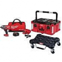 Deals List: Milwaukee M18 FUEL 18- -Volt Lithium-Ion Brushless Cordless 1/2 in. Impact Wrench Kit with PACKOUT Tool Box and Dolly