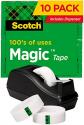 Deals List: Scotch Magic Tape with Dispenser 10 Rolls