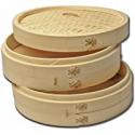 Deals List: Joyce Chen 26-0012 Bamboo Steamer 3-Piece 12-Inch