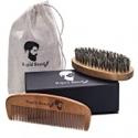 Deals List: Beard Brush and Beard Comb Kit for Men Grooming