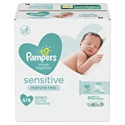 Deals List: 336-Ct Pampers Sensitive Water Baby Diaper Wipes