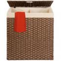 Deals List: BCP Double Laundry Hamper Basket w/Easy Assembly Liner Bag