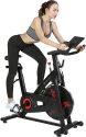 Deals List: Finer Form Indoor Exercise Bike with 35 Lb Flywheel Belt-Driven Stationary Bike - Tablet iPad Holder, LCD Monitor, Cadence Reading, and SPD Compatible Pedals