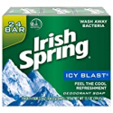 Deals List: 48-Count Irish Spring Mens Deodorant Soap Bar Icy Blast