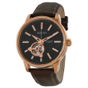 Deals List: Bulova Mechanical Black Dial Rose Gold-tone Mens Watch