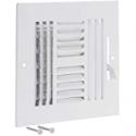 Deals List: EZ-FLO 61618 Four-Way Sidewall/Ceiling Register 8x8-inch Opening