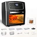 Deals List: CalmDo 12.7 Qt Air Fryer Oven Combo w/10 Accessories & Recipe