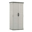 Deals List: Suncast 22 cu. ft. Vertical Resin Storage Shed for Backyard and Patio