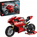 Deals List: LEGO Technic Ducati Panigale V4 R 42107 Motorcycle Toy Building Kit, Build A Model Motorcycle, Featuring Gearbox and Suspension, New 2020 (646 Pieces)