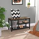 Deals List: VASAGLE Shoe Bench Shoe Rack with Seat