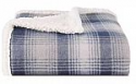Deals List: Eddie Bauer | Brushed Fleece Collection | Throw Blanket-Reversible Sherpa Cover, Soft & Cozy, Perfect for Bed or Couch, Nordic Midnight